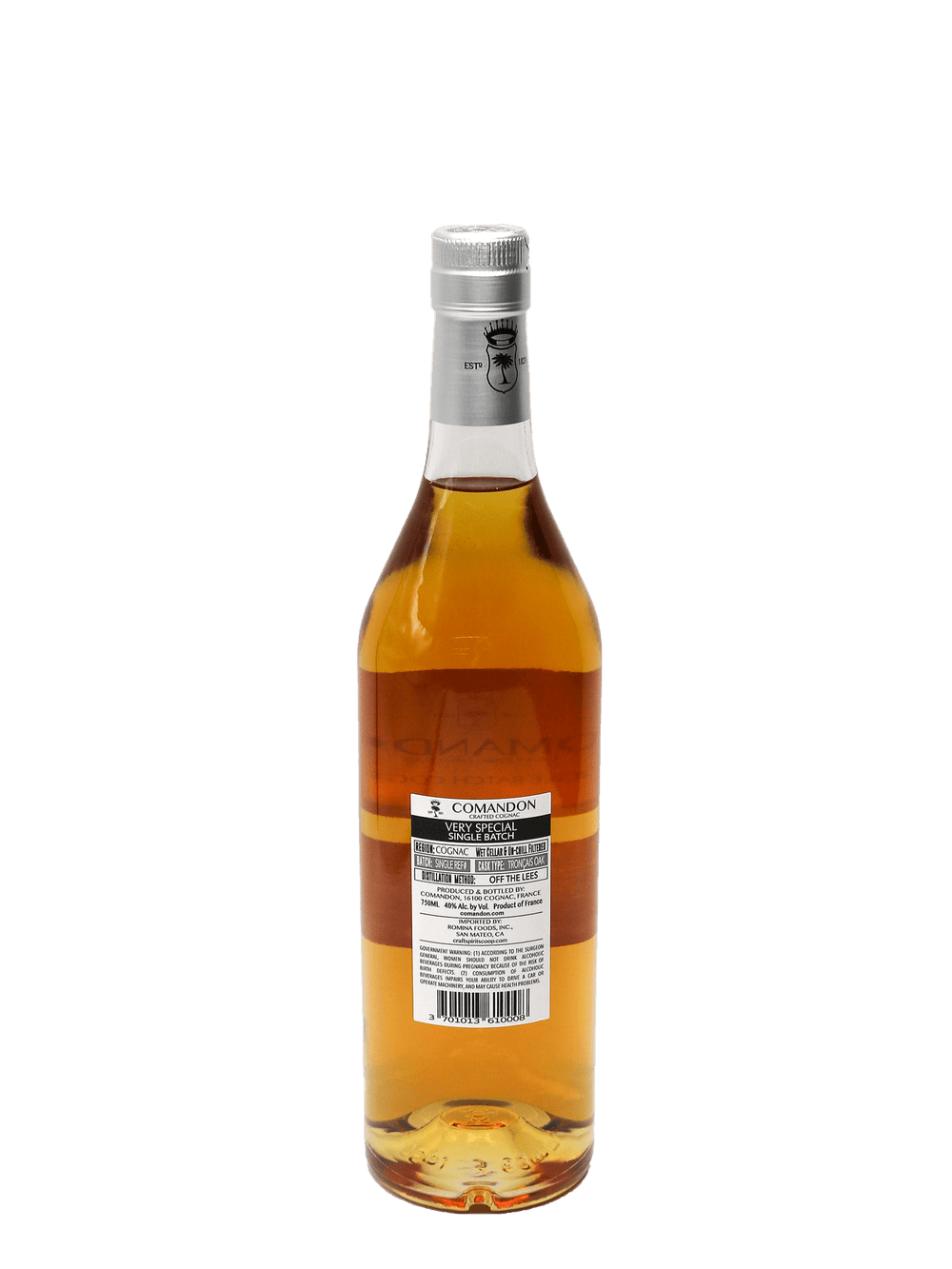 Comandon VS Cognac Single Batch750ml