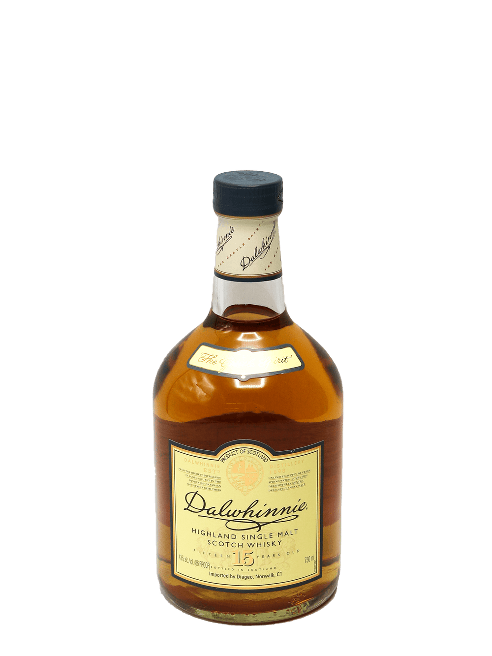 Dalwhinnie 15 Year Single Malt 750ml