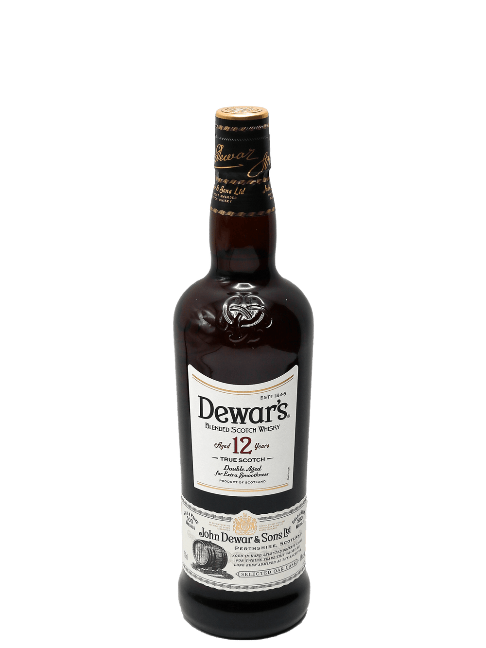 Dewar's 12 Year Blended Scotch Whisky 750ml