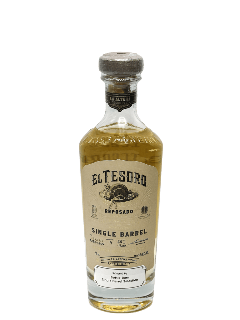 El Tesoro Single Barrel Reposado 750ml