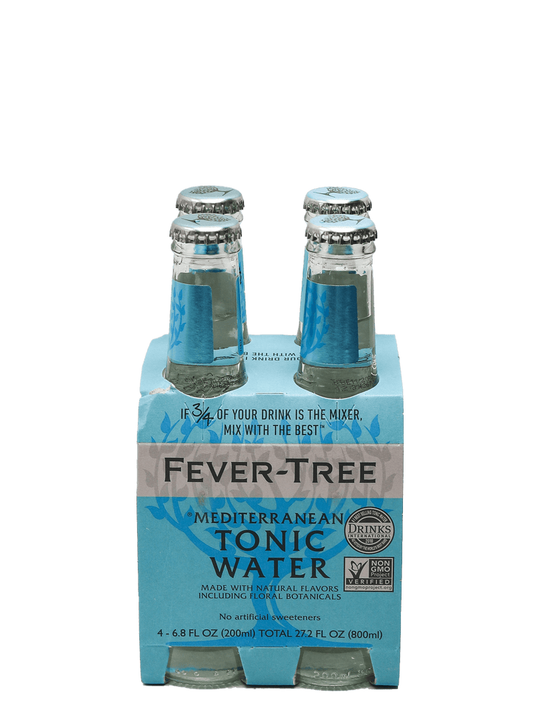 Fever Tree Mediterranean Tonic 4pk