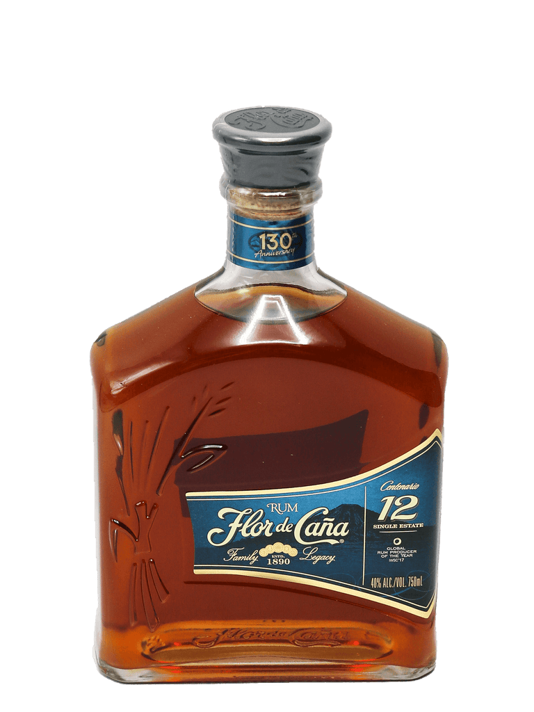 Flor de Cana 12 Year Rum 750ml