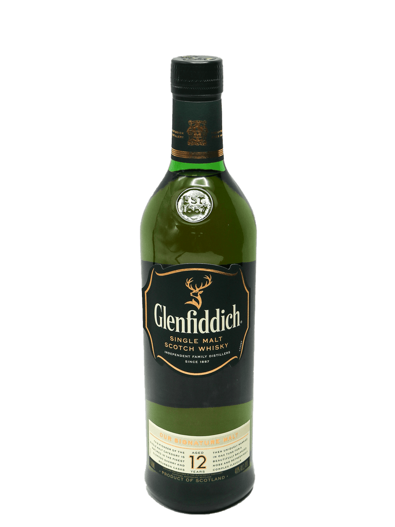 Glenfiddich 12 Year Single Malt Scotch 750ml