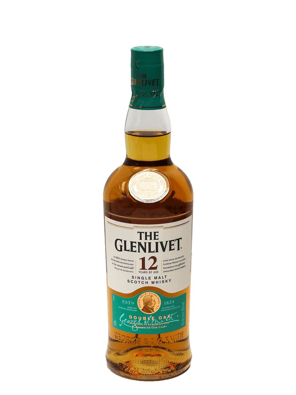 Glenlivet 12 Year Single Malt Scotch 750ml