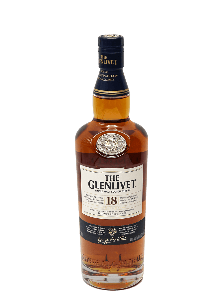 Glenlivet 18 Year Single Malt 750ml