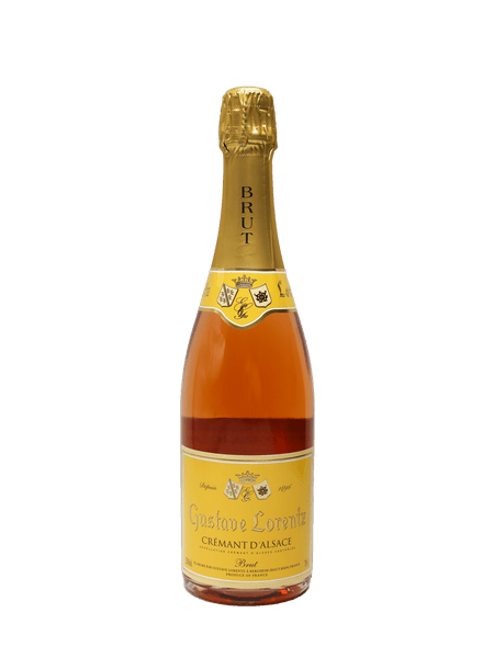 Crémant Brut Rosé made from 100% Pinot Noir