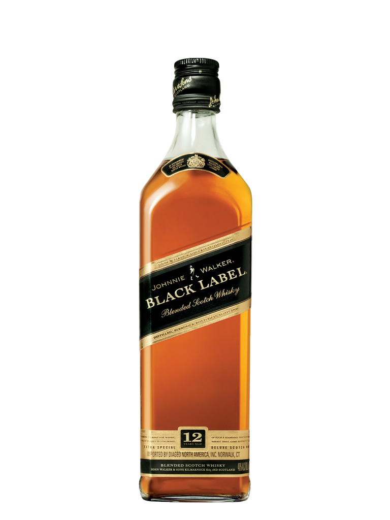 Johnny Walker Black Label Blended Scotch 750ml