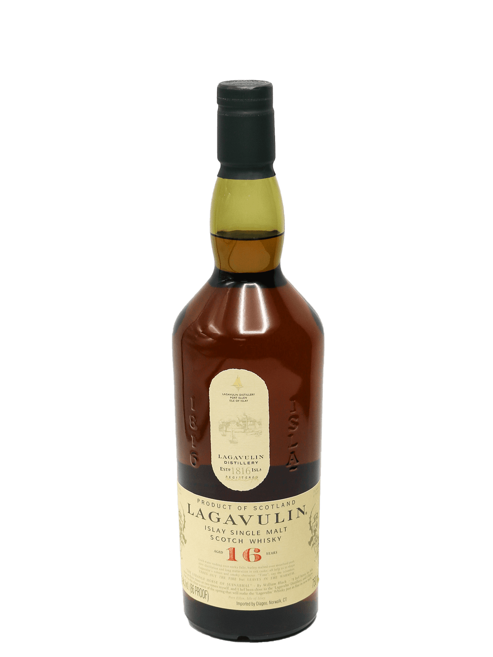 Lagavulin 16 Year Single Malt Scotch 750ml