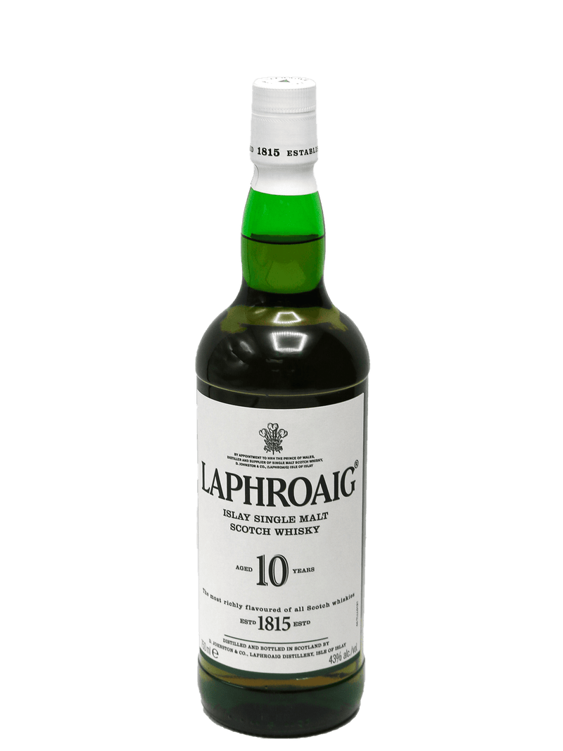 Laphroaig 10 Year Single Malt Scotch 750ml