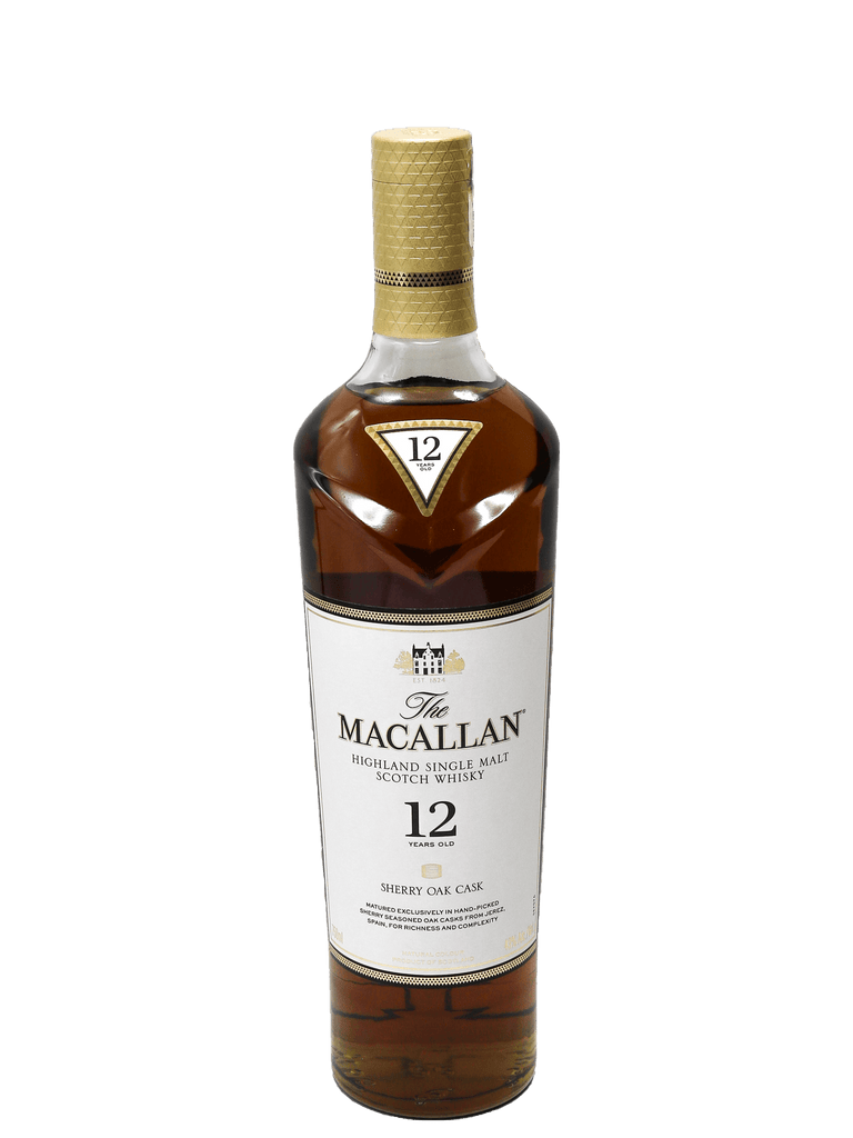 Macallan Sherry Oak Single Malt Whisky 750ml