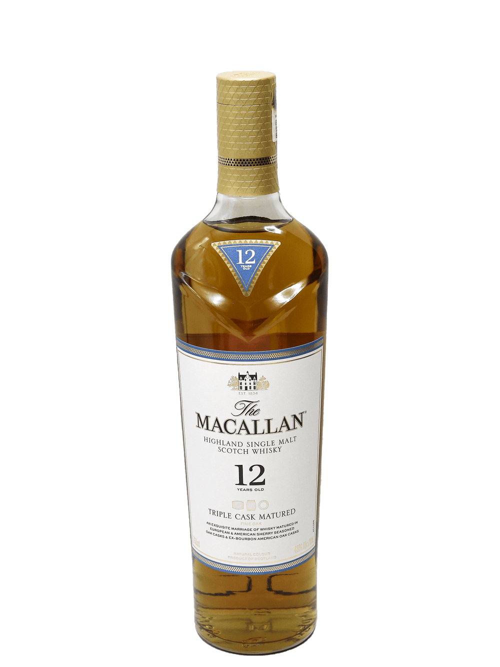 Macallan Triple Cask Single Malt Whisky 750ml