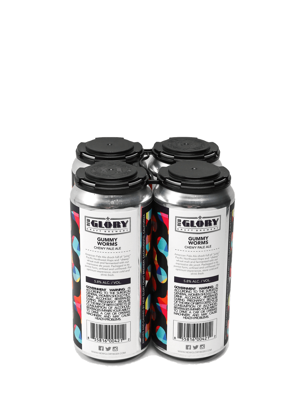 New Glory Gummy Worms Pale Ale 4pk cans