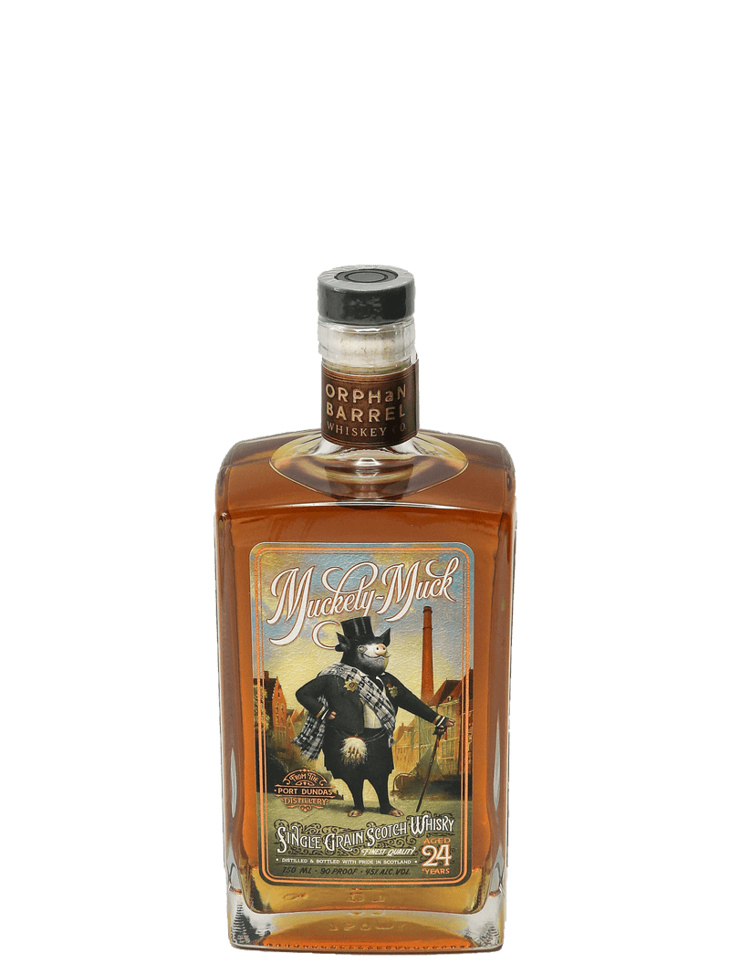 Orphan Barrel Muckety-Muck 24 Year Single Grain Whisky 750ml