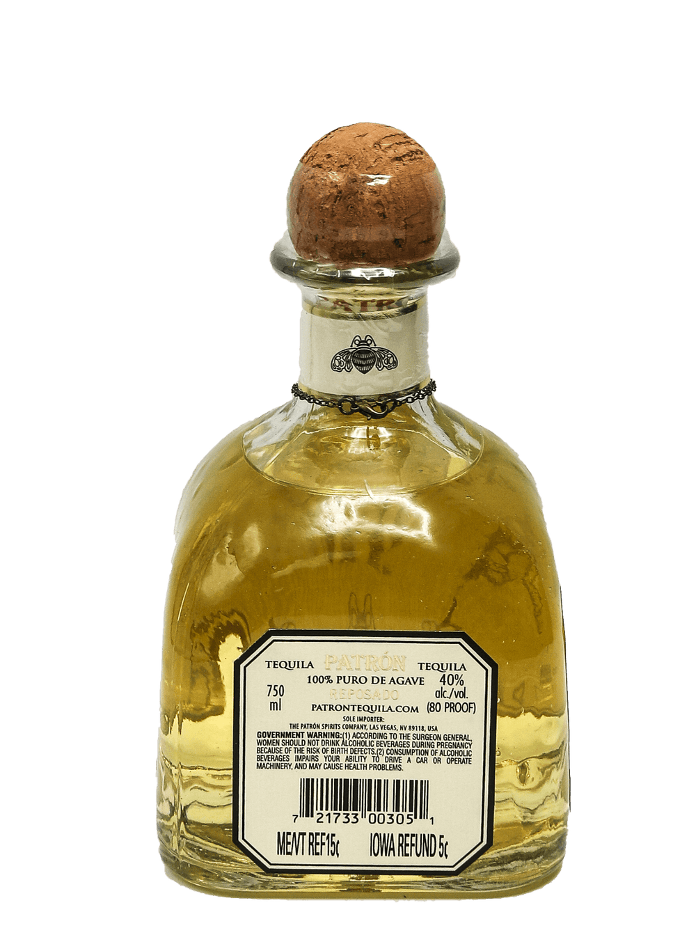 "Patron Reposado Tequila ""Barrel 40"" 750ml"
