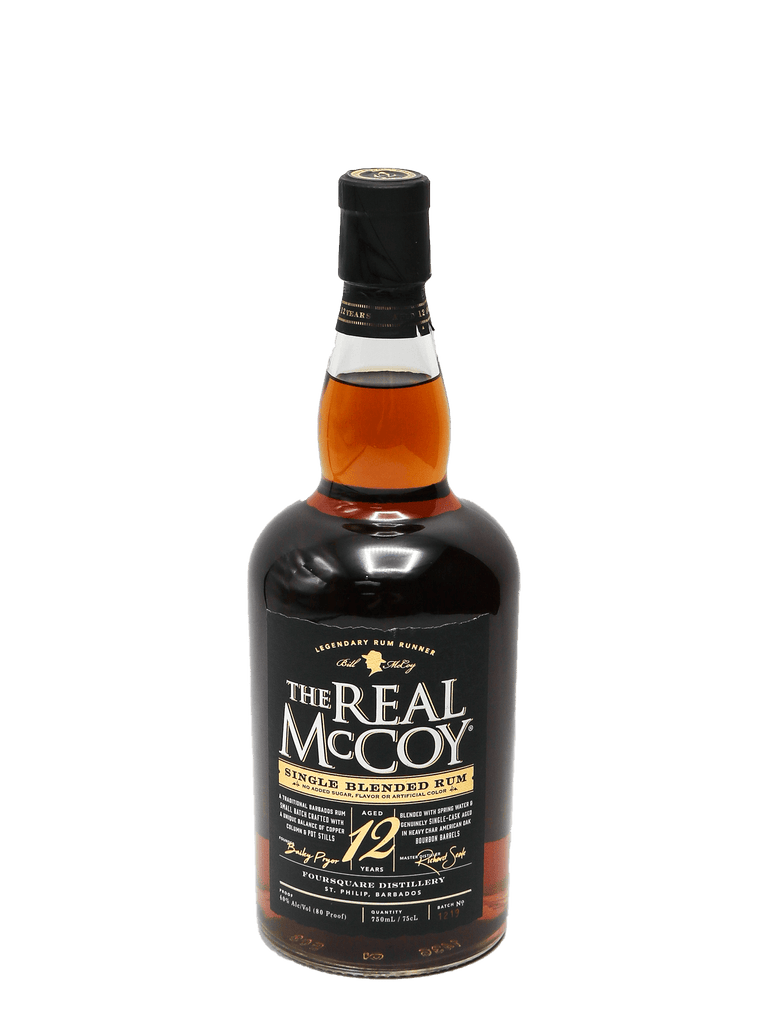 Real McCoy Rum 12 Year 750ml