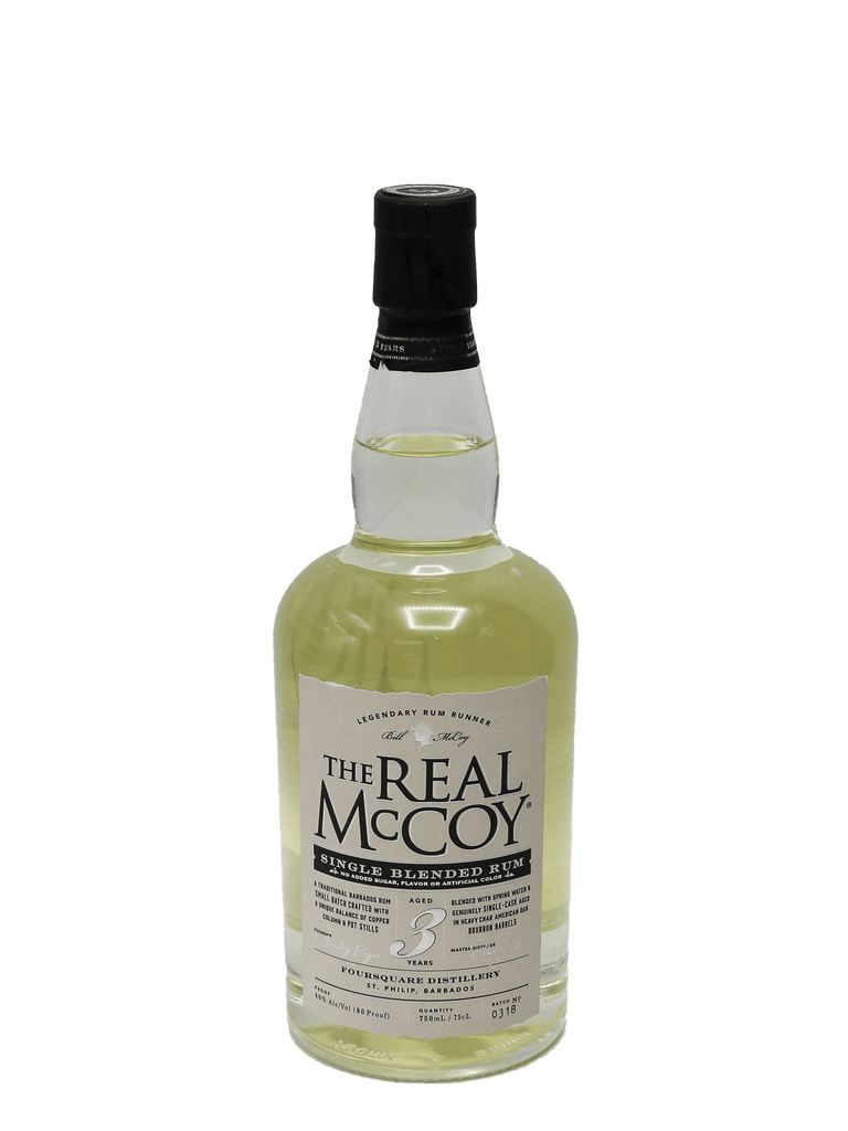 Real McCoy Rum 3 Year 750ml