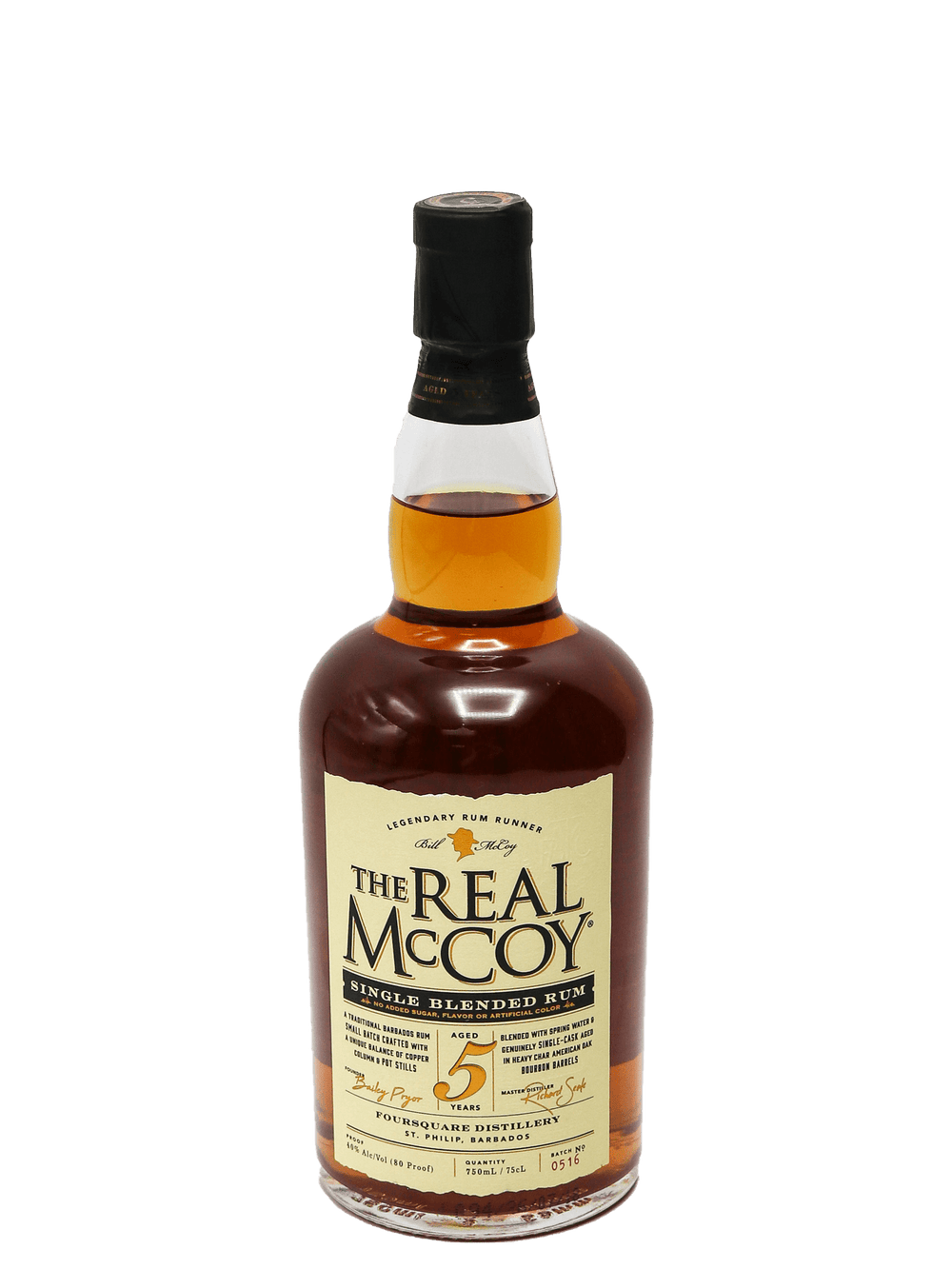 Real McCoy Rum 5 Year 750ml
