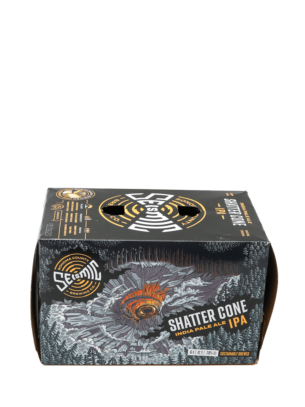Seismic Shatter Cone IPA 6pk cans