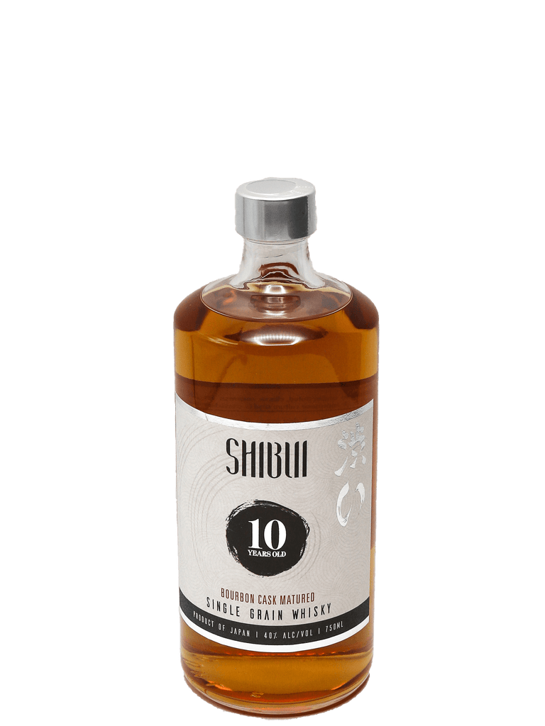 "Shibui 10 Year ""Bourbon Cask"" Japanese Whisky 750ml"