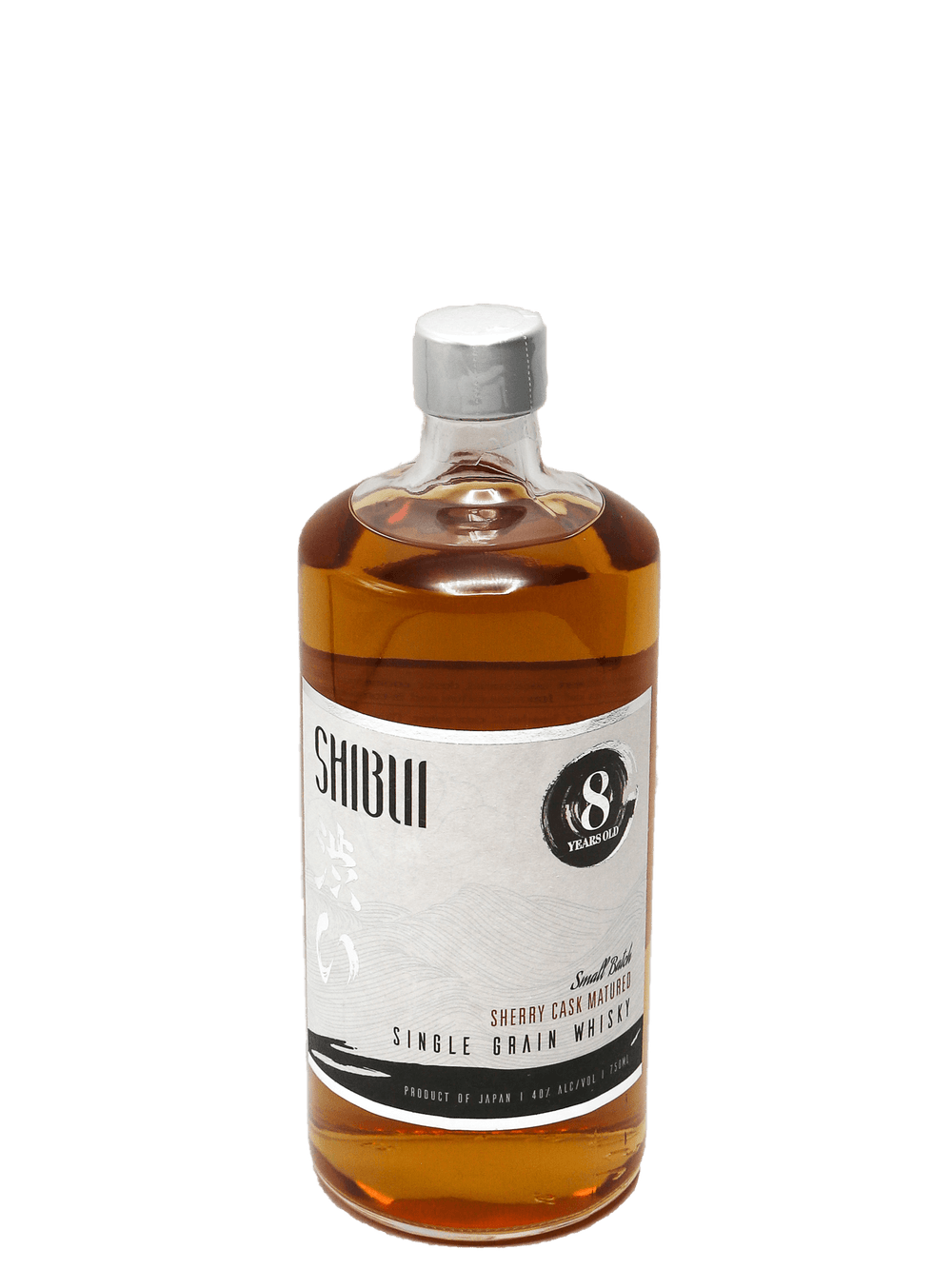 "Shibui 8 Year ""Sherry Cask"" Japanese Whisky 750ml"