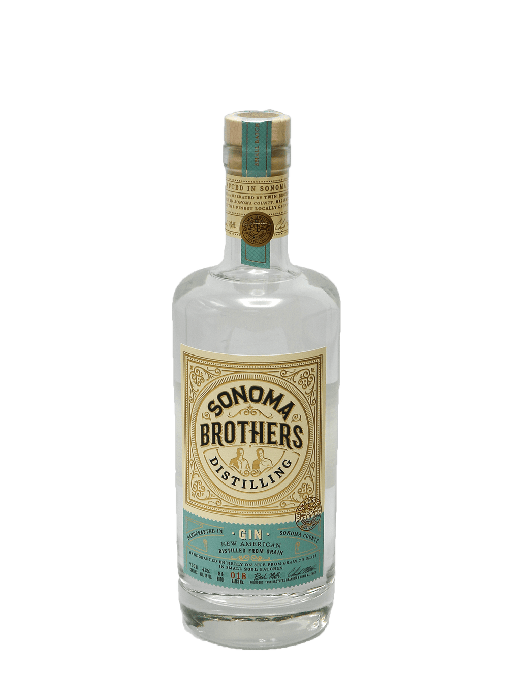 Sonoma Brothers Gin 750ml