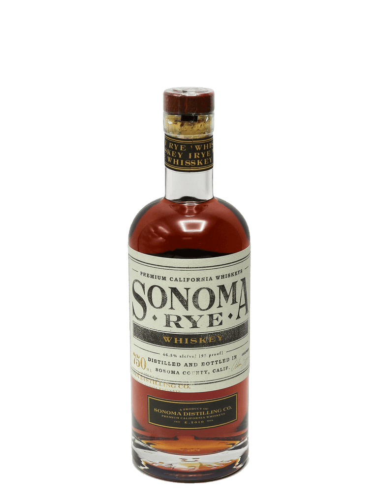 Sonoma Distilling Co. Rye Whiskey 750ml