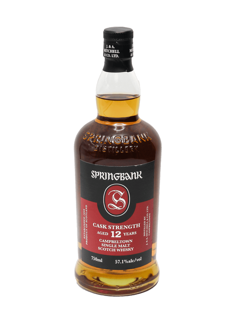 Springbank 12 Year Cask Strength Single Malt Scotch 750ml