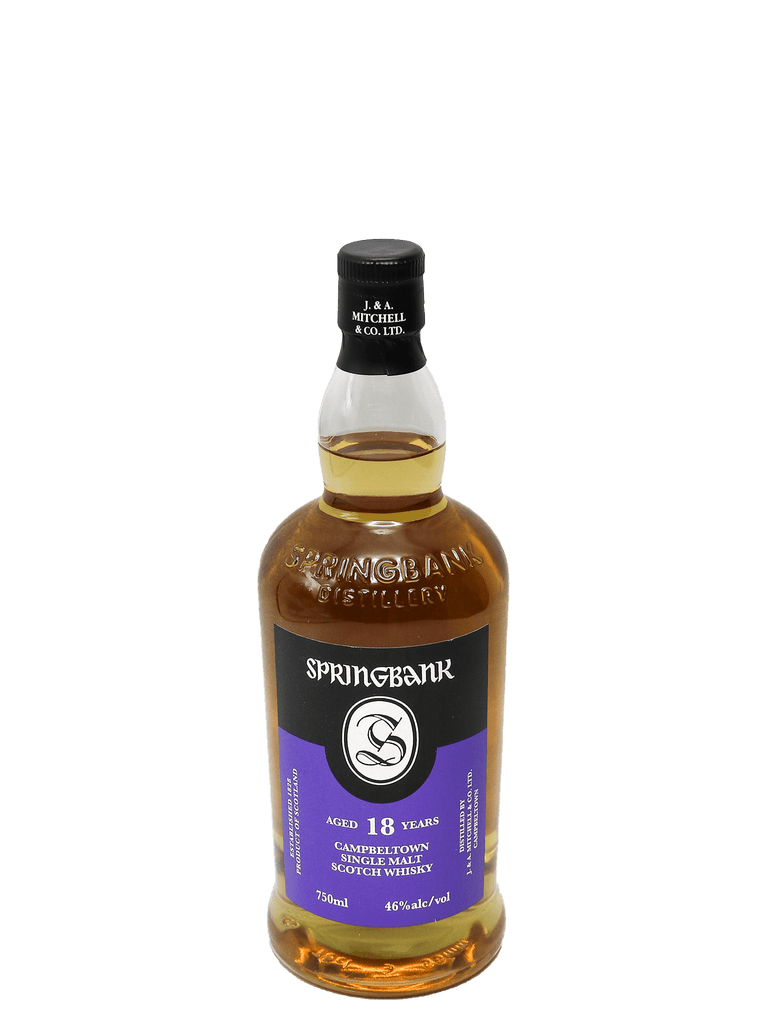 Springbank 18 Year Single Malt Scotch 750ml