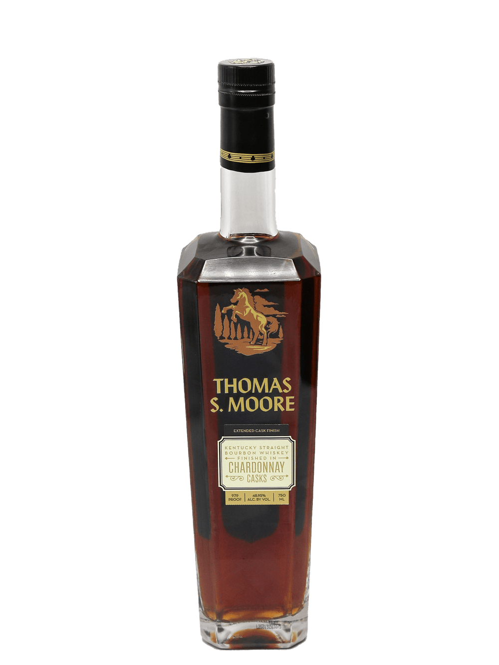 Thomas S. Moore Chardonnay Cask Finish Bourbon 750ml