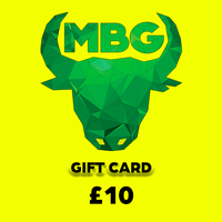 MBG Gift Card - £10 VALUE