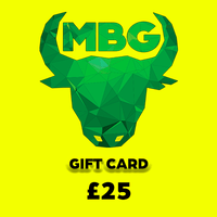 MBG Gift Card  £25 VALUE
