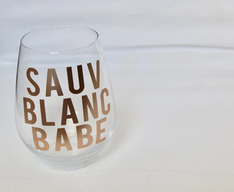 Custom Wine Glasses -