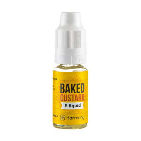 Baked Custard CBD E-Liquid by Harmony