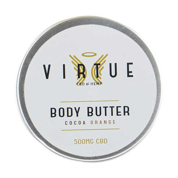CBD Body Butter Cocoa Orange by Virtue
