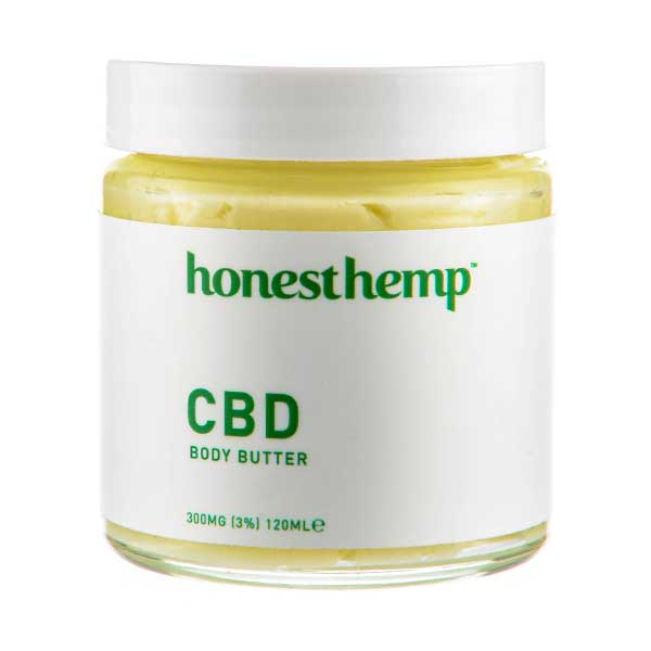 CBD Body Butter by Honest Hemp - 120ml