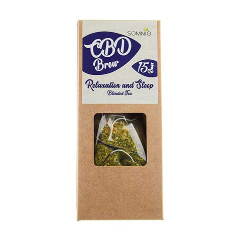 CBD Brew Blended Tea Relaxation and Sleep by Somnio