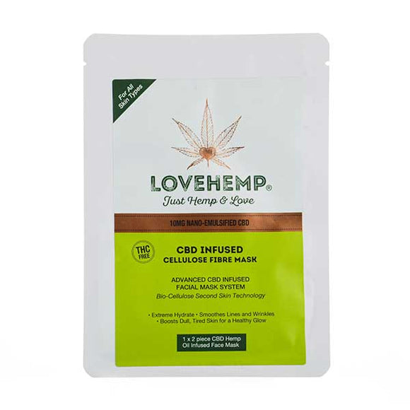 CBD Infused Face Mask by Love Hemp