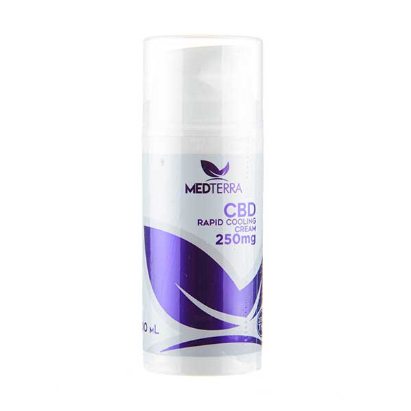 CBD Rapid Cooling Cream by Medterra - 250mg