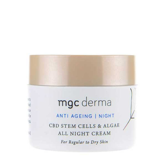 CBD Stem Cells & Algae All Night Cream by MGC Derma