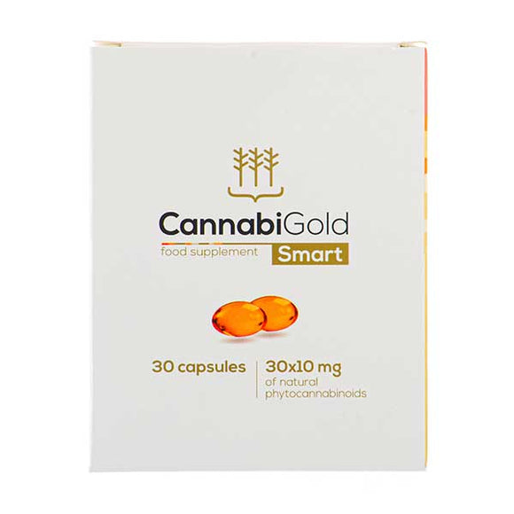 CannabiGold Food Supplement Smart Capsules