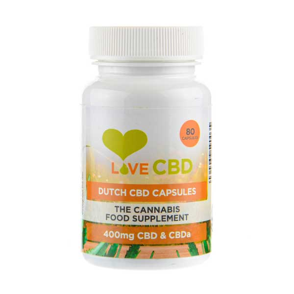 Dutch CBD Capsules by Love CBD
