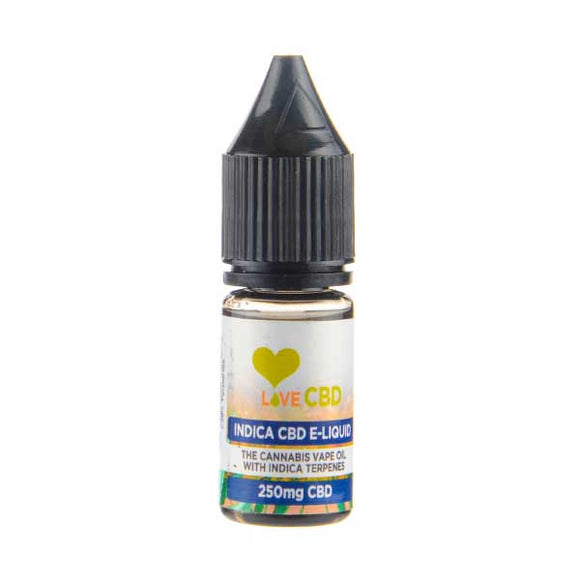 Indica CBD E-Liquid by Love CBD