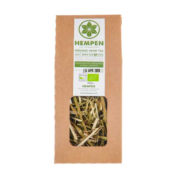 Organic 100% Hemp Stem Tea by Hempen Co-Operative