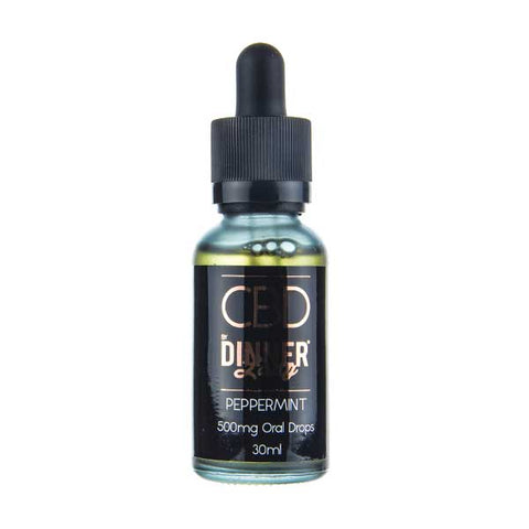 Peppermint Oral Drops 30ml by Dinner Lady