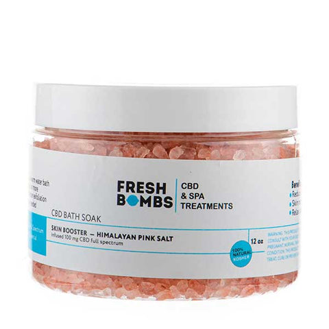 Skin Booster CBD Bath Soak by Fresh Bombs