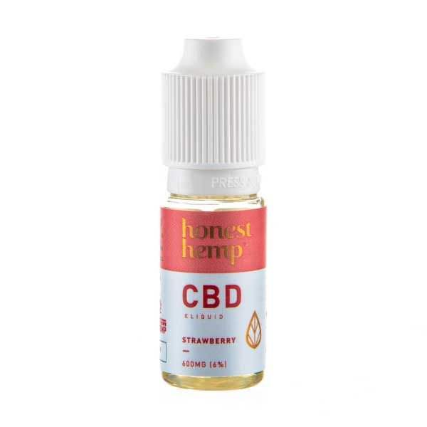 Strawberry CBD E-Liquid by Honest Hemp