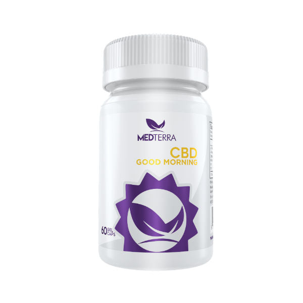 Good Morning CBD Gel Capsules by Medterra