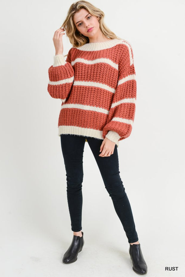 Fire and Fall Sweater