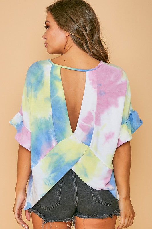 Make it Happen Tie Dye Top