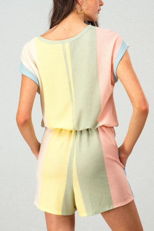 Chasing Rainbows Romper